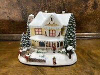 Hawthorne Village Christmas Town Lighted VICTORIAN HOMESTEAD / Thomas Kinkade