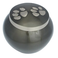 Pet Cremation Urn For Ashes Funeral Memorial Dog Cat Ashes Urn Round Urn 2 Sizes
