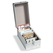 Sammelkoffer CARGO für Postkarten oder Münzen-Sätze, Alu-Design(317821)