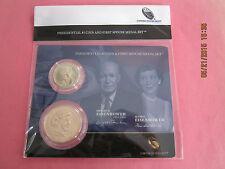 2015 Dwight Eisenhower Presidential $1 Coin &1st Spouse Medal Set-Buy1 Get1 FREE