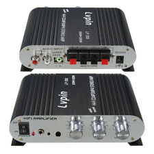 12V Mini 2 Channel Hi-Fi Stereo Audio Amplifier Amp Car Motorcycle Speaker 20W*2