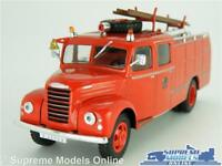 EBRO FIRE ENGINE MODEL TRUCK LORRY 1:43 SCALE IXO FORD THAMES ET6 RED K8