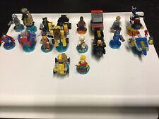 Lego Dimensions (PS4/Xbox/WiiU) 9 Figures/9 Vehicle Job Lot