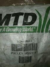Genuine OEM MTD 956-0611 Pulley Assy-Var Sp (new)