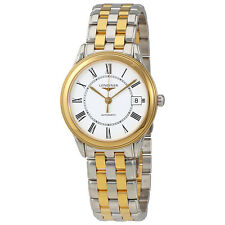 Longines Flagship White  Dial Automatic Ladies Watch L4.774.3.21.7
