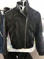 Bod & Christensen leather Motorcycle Style jacket Size Small