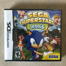 Sega Superstars Tennis (Nintendo Ds 2006) Sonic the Hedgehog Y-Folds New Sealed