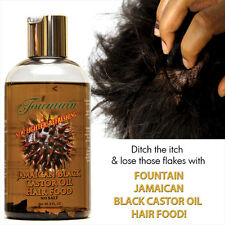 Jamaican Black Castor Oil Hair Food Hair Growth & Dandruff or Dry Scalp Relief