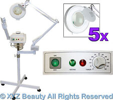 Herbal Aromatherapy Facial Steamer & Magnifying Lamp Spa Beauty Salon Equipment