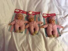 """3 X 8"""" Cuddle Baby Dolls"""
