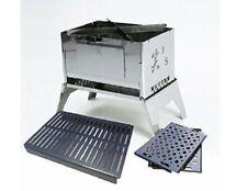 Sho' S · Bonfire Grill 3 Punkt Set A-4 Du, Schwarz Haut Eisen Platte, Rostol Neu
