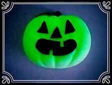 ** CON ZUCCA ILLUMINATA E SPILLA Incandescente-HAND MADE, Halloween, MASCOTTE **