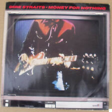 """Dire Straits Money For Nothing solid centre 45rpm UK 10"""" single +Picture Sleeve"""