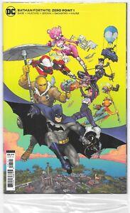 Batman Fortnite Zero Point #1 (06/2021) DC Comics Card Stock Polybag Sealed CODE