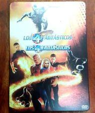 """Película DVD """"LOS 4 FANTÁSTICOS"""" y """"LOS 4 FANTÁSTICOS Y SILVER SURFER"""""""