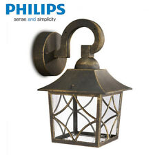 Philips LED Outdoor Wall Light Fixtures Lantern Lighting Lamp Sconce Gold Finish