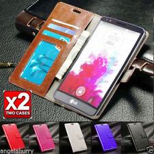 Premium Flip Leather Wallet Case Cover for LG G4