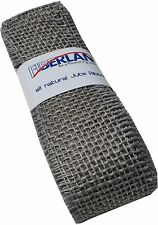 Burlap Ribbon Jute Roll Dark Grey 2 1//2 in x 3 yd Celebrate It Luxe