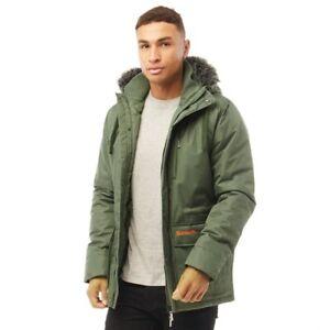 New Mens Bench Mens Heatley Jacket Coat Khaki UK L (B1)