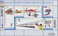 Südafrika 1698-1703 Kleinbogen (kompl.Ausg.) gestempelt 2006 Medizinische Versor