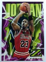 1995-96 SkyBox Z Force Michael Jordan #11, Chicago Bulls, HOF