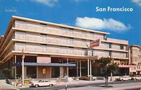 San Francisco California CA 1960s Postcard Continental Lodge Motel