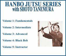 Hanbo Jutsu Instructional Series (5) Dvd Set fundamentals advanced black belt