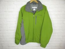 Columbia men's size L Green Insulated Coat Omni Shield Jacket