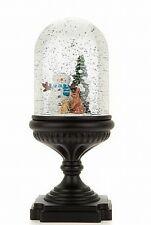 Winter Lane Musical Lighted Snow globe - Snowman New In Box
