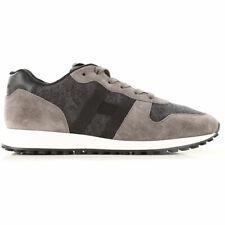 HOGAN uomo sneakers Running  H429 grigio/nero SCONTO 40%