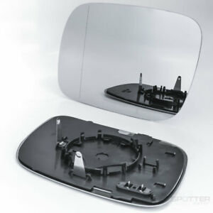 Mirror Glass for VW Touareg 2004 2005 2006 2007 Driver Left Side Heated