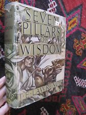 WWI Soldiers Middle East T. E. Lawrence Seven Pillars of Wisdom Illus. DJ 1937