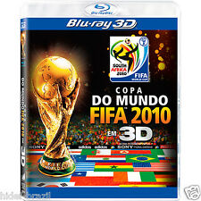 Blu-ray 3D The Official 2010 Fifa World Cup Film In 3D [ Region ALL ]