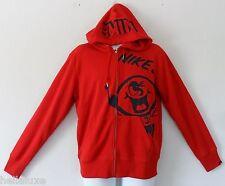 nwt~Nike SQUAD NO FINISH LINE GRAPHIC Hoody Sweat Shirt Fleece Jacket top~Mens M