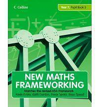 New Maths Frameworking - Year 7 Pupil Book 3 (Levels 5-6) by Brian Speed, Keith
