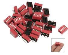 W7 - 10 Stück DIP Schalter 5-polig RM 2,54 Micro Codier Schiebeschalter Piano