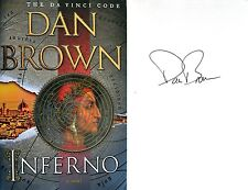 Dan Brown~SIGNED~Inferno~1st/1st HC~BEAUTIFUL! NEW! Author of The Da Vinci Code