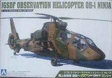 Aoshima 1434 JGSDF Observation Helicopter OH-I Ninja  1:72