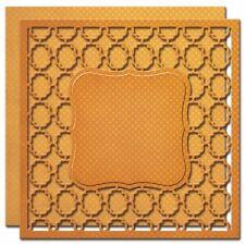 SPELLBINDERS Nestabilities Card Creator LABELS ONE CARD FRONT 2 Dies S6-023 Cut