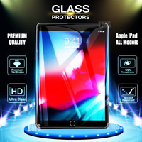 "2X Genuine Tempered Glass Screen Protector Apple iPad 6th /5th Gen 9.7"" Air 1 2"