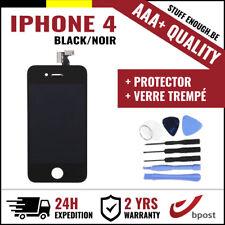 AAA+ LCD  TOUCH SCREEN/SCHERM/ÉCRAN BLACK NOIR & VERRE TREMPÉ +TOOL FOR IPHONE 4