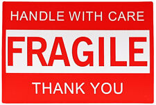 500 PCS 75 x 50mm Fragile Label (Handle With Care Thank You) Sticker Roll