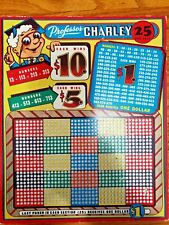Professor Charley Punch Board Game Use for Charitable Events