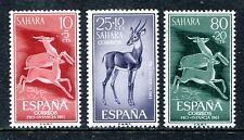 Spanish Sahara B64-B66 MNH Child welfare 1961 Mountain Gazelles. x17159