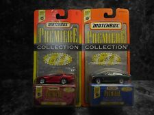 2  1997 matchbox premiere collection/1969 camaro ss 396/ viper gts coupe