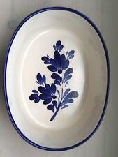 Pretty Oval Pottery Dish. Gresvi Viana