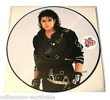 "NEW - MICHAEL JACKSON - BAD - 25TH ANNIVERSARY 12"" VINYL PICTURE DISC / MINT"