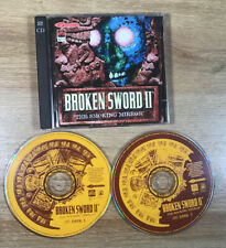 Broken Sword 2 II The Smoking Mirror PC Game on 2 x CD ROM **FreeUKPost**