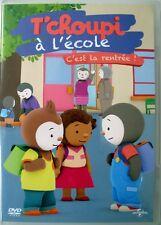 DVD -  T'CHOUPI à l'école - C'est la Rentrée ! - 1h00 mn env.