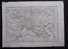 § carte Russie d'Europe partie méridionale - Félix Delamarche 1829